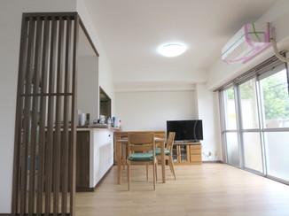 内装リフォーム 和室を改装し、リビングを広げた内装リフォーム