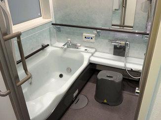バスルームリフォーム 脱衣所の収納スペースが増え使いやすくなった浴室廻り