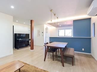戸建フルリフォーム 築30年のお家を現代の夫婦のための新居へリノベーション