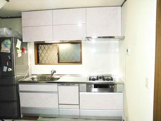 キッチンリフォーム お掃除が楽で使いやすい奥さま理想のキッチン